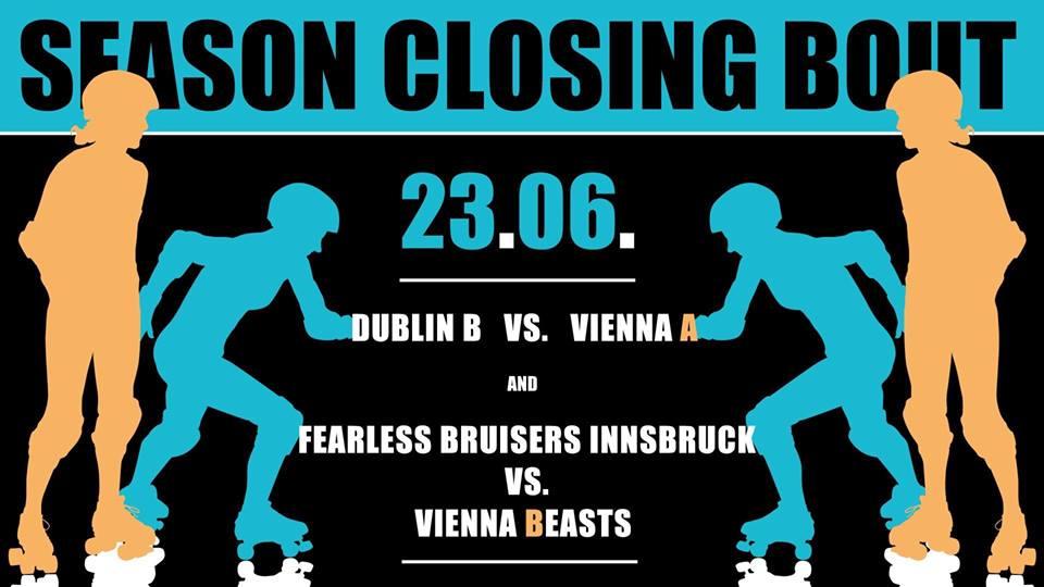 Season Closing: Vienna Roller Derby vs. Dublin/Innsbruck