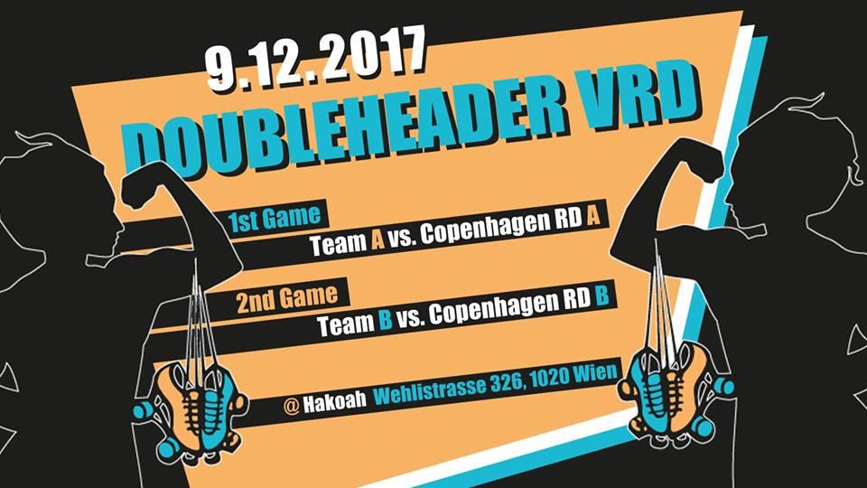 Doubleheader VRD vs. Copenhagen Roller Derby