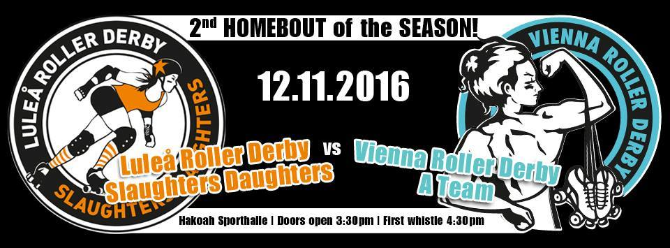Luleå Roller Derby Slaughters Daughter vs VRD A Team