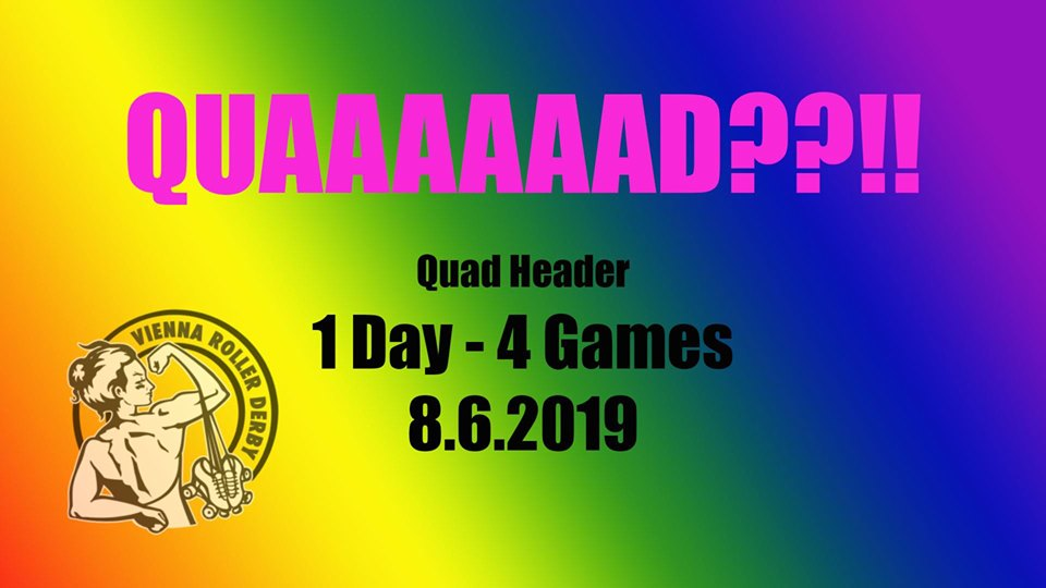 Roller Derby: Quad Header – Season Closing – 8.6.2019
