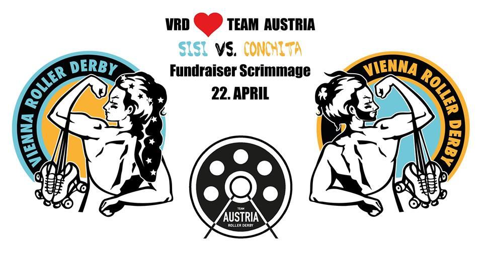 VRD <3 Team Austria. Sisi vs. Conchita Fundraiser Scrimmage
